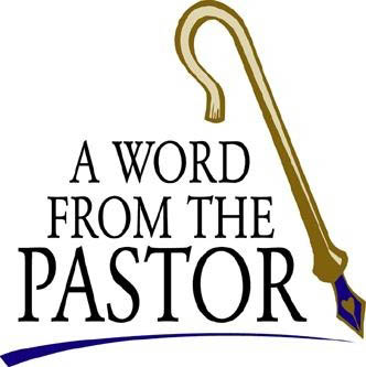 Word from Pastor